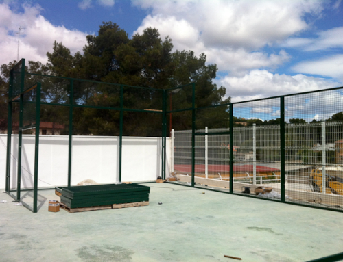Instalaci n c sped artificial padel 5 cesped artificial - Cesped artificial castellon ...