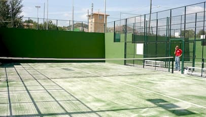 césped artificial padel