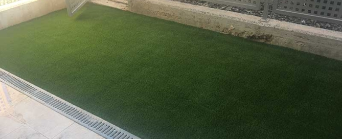 Jardin cesped artificial Connext